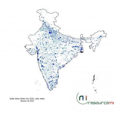 India Urban Water Use 2020