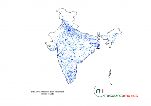 India Urban Water Use 2020